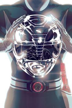 Mighty Morphin Black Ranger - Goni Montes