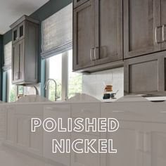Representing timeless sophistication, Polished Nickel is the perfect finish choice. Its adaptive color and lustrous sheen make it a desirable finishing touch for drawers, cabinet doors, and appliances. Here's a selection of Top Knobs favorite Polished Nickel decorative hardware pieces.