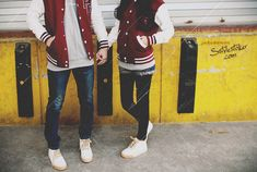 i want the jacket too! // wanna get this soon..would be perfect couple just like this <3