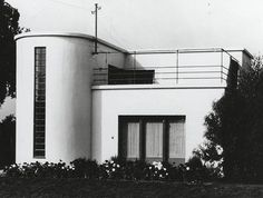 Architect Carl Fieger Hous, Dessau. Bauhaus