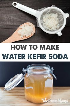 Water Kefir is a naturally fizzy fermented drink that is full of probiotics and enzymes for a delicious and healthy drink!