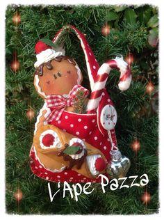 Cartamodelli ginger Natale 2014 : Cartamodello ginger nella borsetta