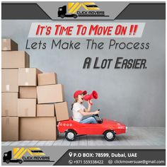 It's Time To Move On !! Let's Make The Process A Lot Easier...  Click Movers UAE Contact Us  : +971 559338422 Email Id  : clickmoversuae@gmail.com  www.clickmoversuae.com #CMoversAbuDhabi #MoversInUAE #MoversInDubai #Movers #MoversInSharjah #MoversInAbuDhabi #MoversAtDubai #AbuDhabiMovers #BestMoversInDubai #BestMoversInAbuDhabi #BestMoversInSharjah #CheapRateMoversinUAE #CheapRateMoversinDubai #CheapRateMoversinAbuDhabi #CheapestMoversInDubai #CheapestMoversInAbuDhabi…