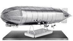 Graf Zeppelin: Metal Earth 3D Laser Cut Miniature Model Kit 2 sheets #MetalEarth