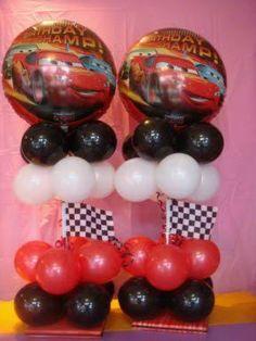 decoracion de fiesta infantil de los cars - Buscar con Google