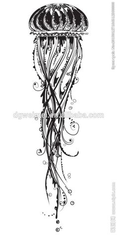 jellyfish tattoo tribal - Recherche Google