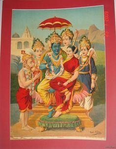 Rama, Sita, Hanuman and the gang.