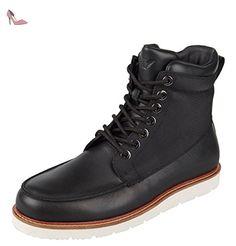 Armani Jeans , Bottes Rangers homme - noir - Schwarz, 42 EU - Chaussures emporio armani (*Partner-Link)