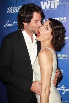 ADORBS. L'actrice Lana Parrilla et Fred Di Blasio le 21 septembre 2012.