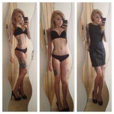 Look sensuel n087 pour femme avec tatouage #tattoo #sexy #tatouage sur www.mon-attoo.com