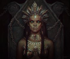 Akasha by LoranDeSore on DeviantArt Black Girl Art, Black Women Art, Black Art, Art Girl, Black Vampire, Vampire Queen, Vampire Art, Fantasy Inspiration, Character Inspiration