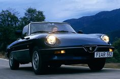 Alfa Romeo Spider. Miss my 78 AR and would like to own one AGAIN one day.