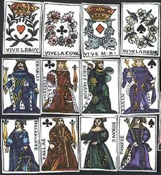 Medieval gambling cards from 1377 via medievalists.net#MedievalJousting #JustJoustit