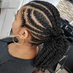 Natural Hair Weaves, Protective Hairstyles For Natural Hair, Natural Hair Twists, Weave Hairstyles, Cute Hairstyles, My Hairstyle, Black Hairstyle, Natural Styles, Black Girls Hairstyles