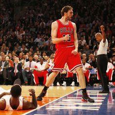 Pau Gasol Power @ Madison Square Garden