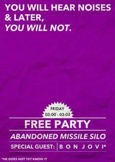 Free party!