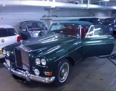 Rolls-Royce Silver Cloud III Drophead Coupé Koren by Mulliner Park Ward 1966.