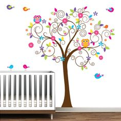 Baby Nursery Tree Wall Decal Wall Sticker-Tree Wall by Modernwalls