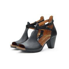 hayley black Peeps, Peep Toe, Sandals, Fair Trade, Shoes, Collection, Black, Fashion, Shoe