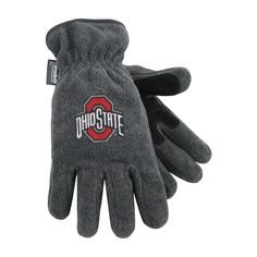 Ohio State University Heavy-Weight Fleece Gloves (small) -- Awesome products selected by Anna Churchill