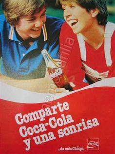 Publicidad Antigua Coca Cola Años 80s Qqz M40 en venta en San Nicolás De Los Garza Nuevo León por sólo $ 120,00 - CompraCompras.com Mexico