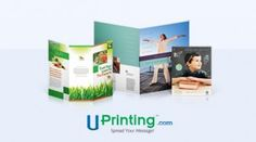 50 brochures by UPrinting