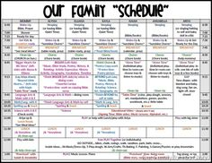 Cleaning Schedule For The Whole Family  Cleaning