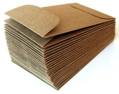 Mini Natural Kraft Envelopes (Brown Bag) with Open End . x 25 Mini Natural Kraft Envelopes Brown Bag with Open End Mini Natural Kraft Envelopes Brown Bag with Open End . Brown Envelopes, Paper Envelopes, Kraft Envelopes, Paper Suppliers, Blank Business Cards, Diy Envelope, Wie Macht Man, Memory Album, Cardboard Paper