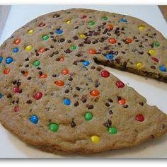 M Giant Chocolate Chip Cookie Cake Recipe   Key Ingredient