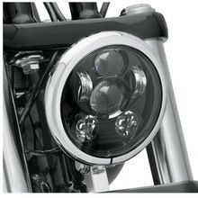 """5.75"""" 5-3/4"""" Motorcycle Projector 45W Osra-m LED Lamp Headlight For Harley Sportster,  Iron 883,  Dyna, Street Bob FXDB     5.75″ 5-3/4″ Motorcycle Projector 45W Osra-m LED Lamp Headlight For Harley Sportster,  Iron 883,  Dyna, Street Bob FXDB   ( Free Shipping )       Fits '06-'11 VRSCD and VRSCDX, '15-later XG, '04-later XL, '09-'13 XR, '91-later Dyna® (except FLD and '91-'05 FXDWG), '84-'99 FLSTS and FXSTS, ...    US $53.67…"""