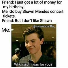 I like Shawn but that would be me with Jacob sartorius (though I wouldn't be mean enough to take that much advantage)