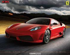 Ferrari - 430 Scuderia - Official Mini Poster