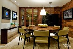 Decor Salteado - Blog de Decoração e Arquitetura : Salas de jantar com 8 e 10 cadeiras – veja mesas quadradas, retangulares e redondas!