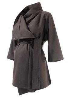 Belted Wrap Maternity Jacket | Maternity Coats | Isabella Oliver Maternity