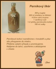 Czech Recipes, Christmas Candy, Healthy Drinks, Smoothies, Deserts, Beverages, Dessert Recipes, Goodies, Food And Drink