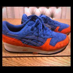 the latest 1a45c e17e1 Asics Shoes   Asics Gel-Lyte 3 Knicks   Color  Blue White