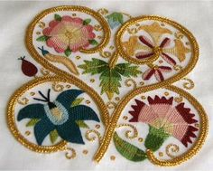 Finished Elizabethan embroidery « White Threads