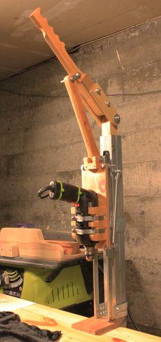 Homemade drill press design #3