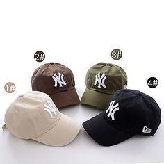 1de34eb5820 Adjustable Men Women Baseball NY Cap Snapback Sport Hip-Hop Golf Hat 5  Colors