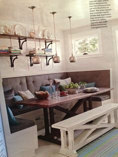 Shelving Above The Bench For Displaying Things Is Nice Would Bring In More Of Our
