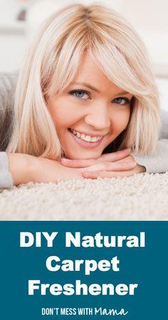 DIY Natural Carpet Freshener #DIY #home - DontMesswithMama.com