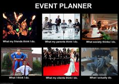 What an event planner does