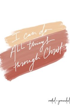 I can do all things through Christ free phone wallpaper