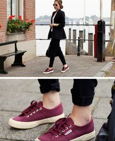 Sleek and Superga