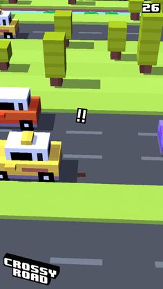 26 on #crossyroad. My top is 103.