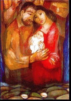 Billedresultat for sieger köder Christian Paintings, Christian Art, Religious Icons, Religious Art, Mother Of Christ, Bible Illustrations, Biblical Art, Jesus Pictures, Holy Family