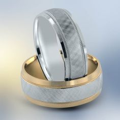 Want your ring made with two colors? Or just one? The choice is yours.