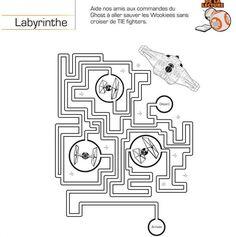 labyrinthe star wars
