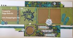 layout by Paige Dolecki using CTMH Later Sk8r paper