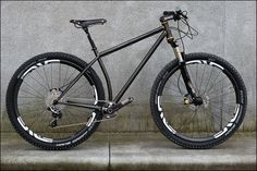 UTA done and dusted. by fast boy, via Flickr.  29er geometry done right. Too bad there is only 1!